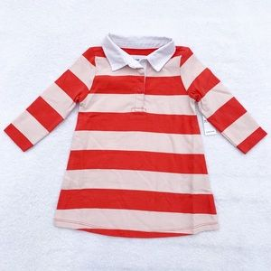 Old Navy Rugby Dress Size 12-18 Months NWT